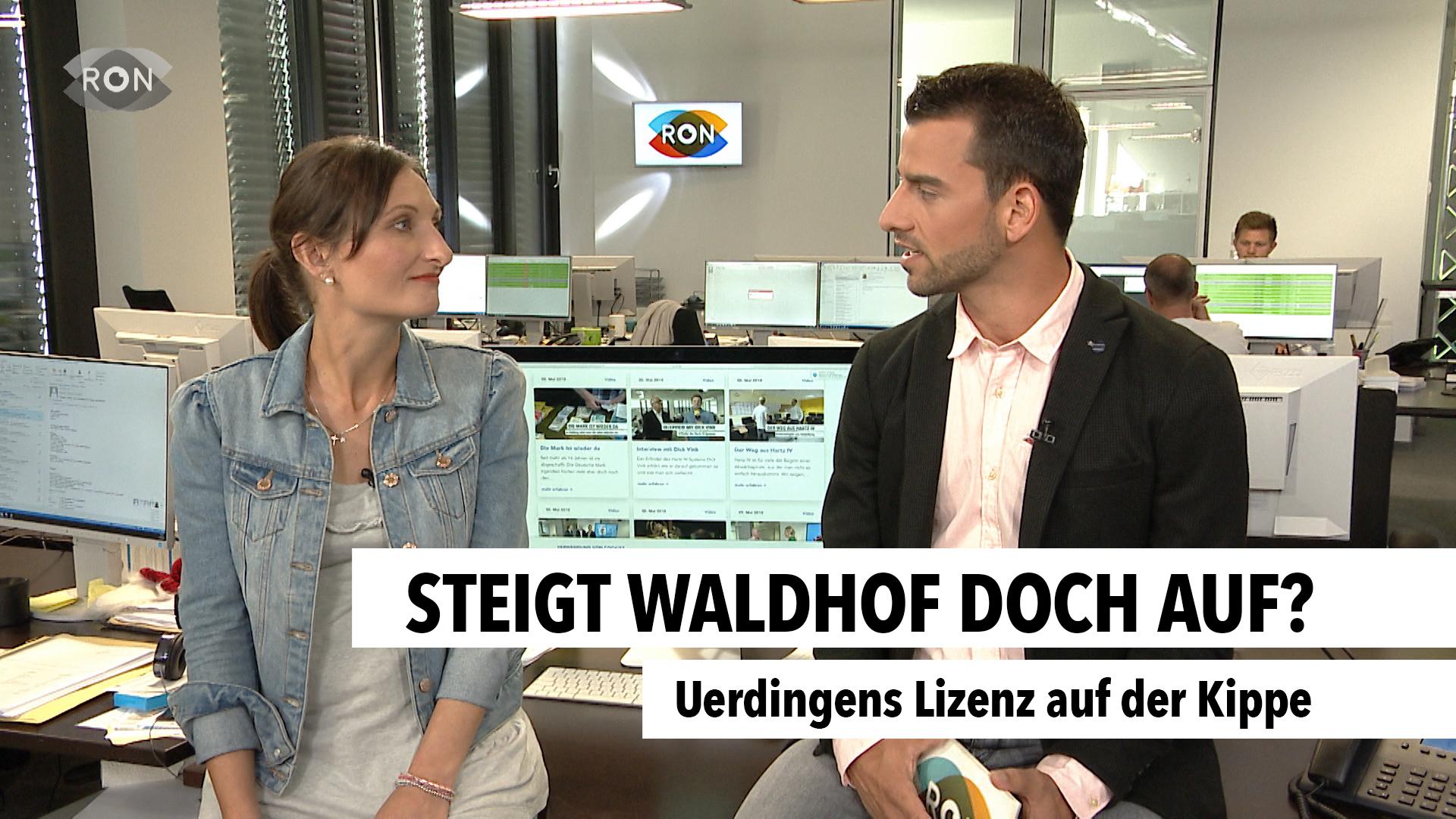 Steigt Waldhof doch auf? - RON TV