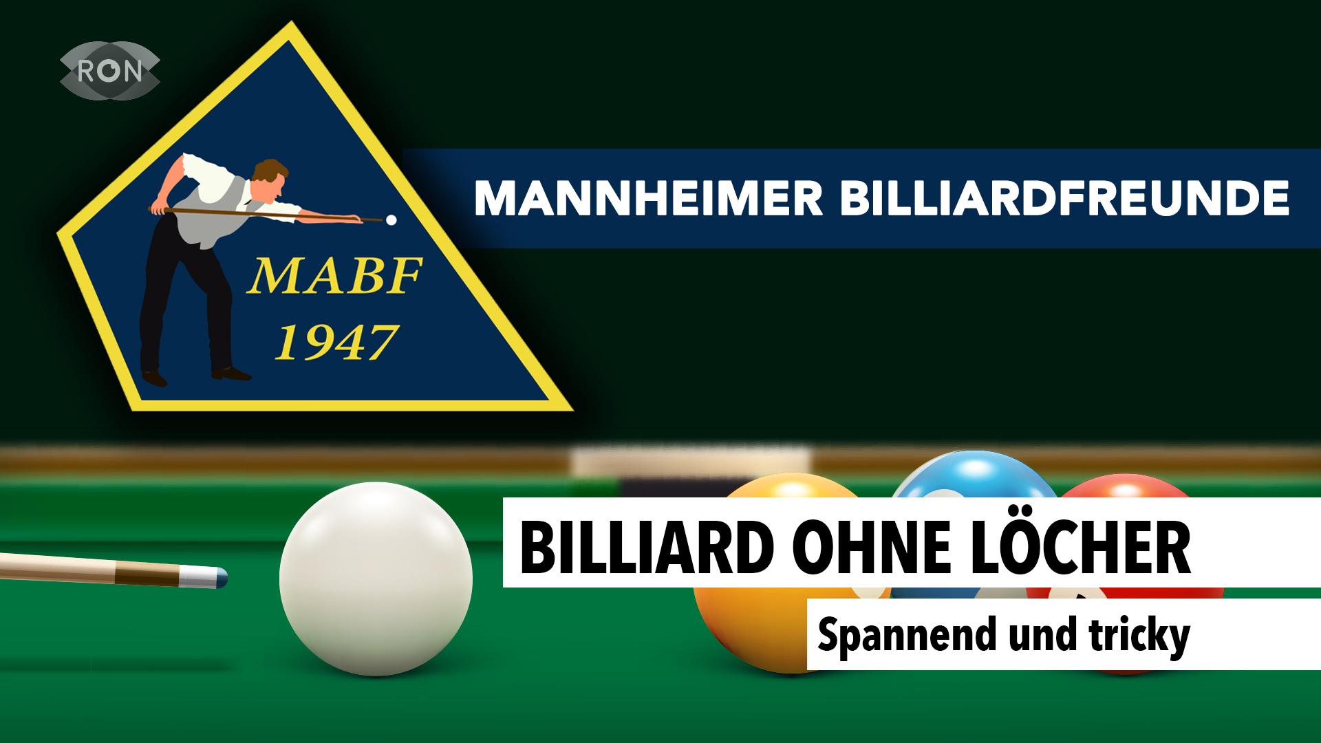 Billard Ohne Löcher